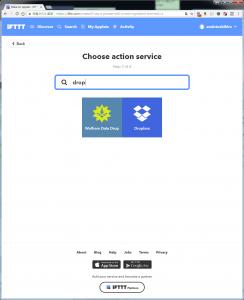 select dropbox